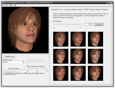 FaceGen Modeller v3.5