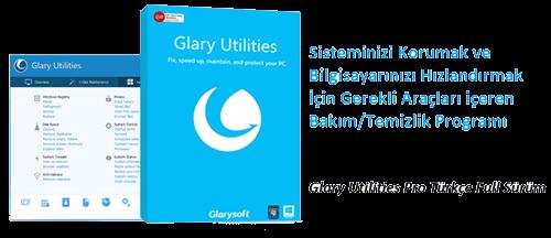Glary Utilities Pro v5.69.0.90 Türkçe