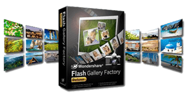Wondershare Flash Gallery Factory Deluxe v5.2.1