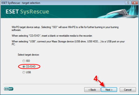 ESET NOD32 SysRescue CD / USB 2015
