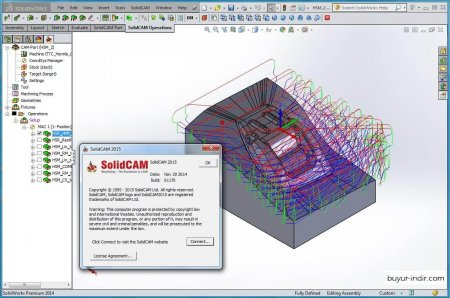 SolidCAM 2015 SP1 HF1 SSQ (x32 ve x64)