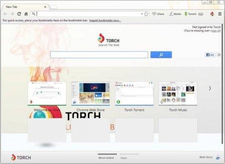 Torch Browser v47.0.0.11536 Türkçe