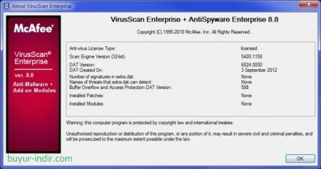 McAfee VirusScan Enterprise v8.8