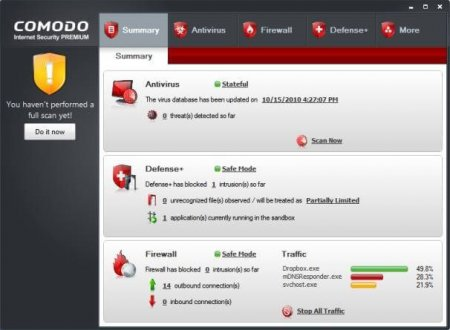 COMODO Internet Security Premium v10.0.1.6294