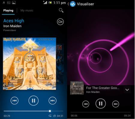Sony Walkman Music Player Apk