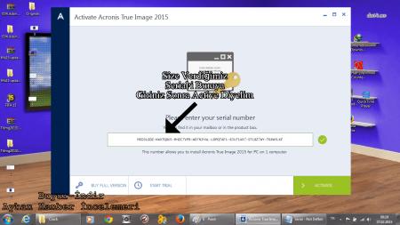 Acronis True Image 2015 - Resimli Kurulum İşlemi