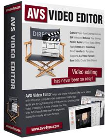 AVS Video Editor v7.1 Katılımsız
