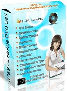 KPSS-A İşletme Görüntülü DVD Eğitim Seti