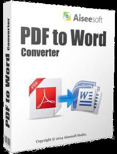 Aiseesoft PDF to Word Converter v3.2 Katılımsız