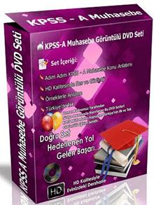 KPSS-A Muhasebe Görüntülü DVD Eğitim Seti