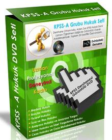 KPSS-A Hukuk Görüntülü DVD Eğitim Seti
