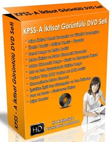 KPSS-A İktisat Görüntülü DVD Eğitim Seti