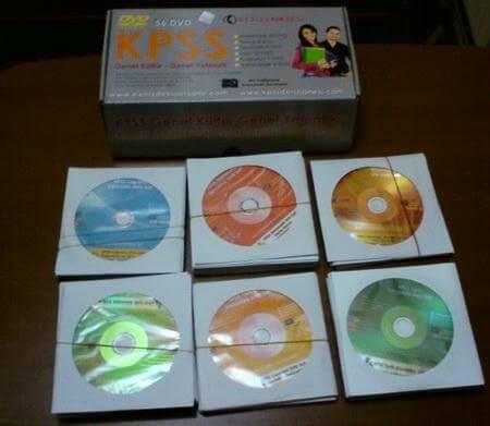 KPSS Genel Kültür Genel Yetenek DVD Eğitim Seti