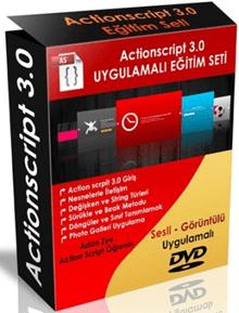 Actionscript v3.0 DVD Görsel Eğitim Seti Türkçe