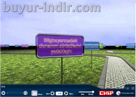 CHIP Dergisi Bilgisayar Görsel Eğitim Seti Türkçe