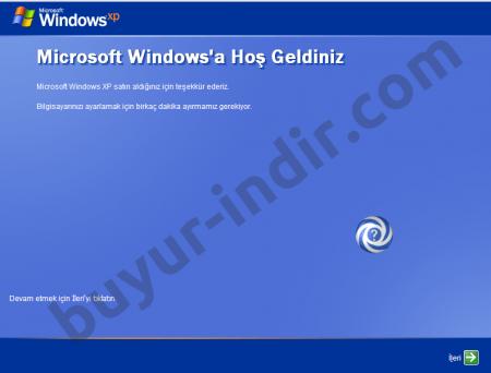 Windows XP Pro SP3 Türkçe Full Tek Link İndir