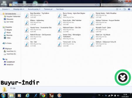 Slow / Pop Müzik Paketi - 15 Adet MP3