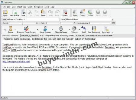 NextUp TextAloud v3.0.96