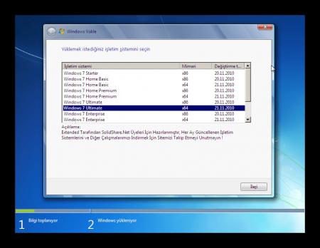 Windows 7 SP1 AIO (13in1) Şubat Güncel