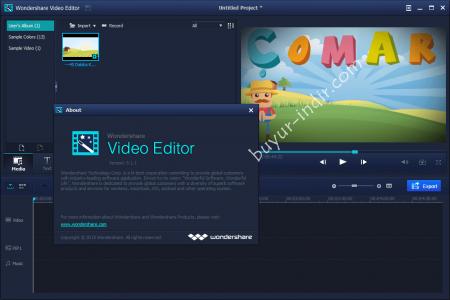 Wondershare Video Editor v5.1 Katılımsız