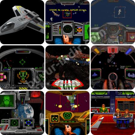 Wing Commander PC - Oyun Arşivi 9 Adet