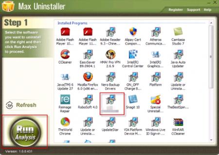 Max Uninstaller v3.6.1.1577 Full