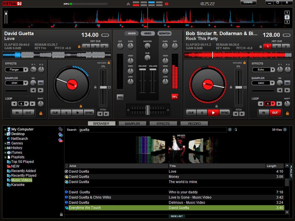 virtual dj pro 8 full indir