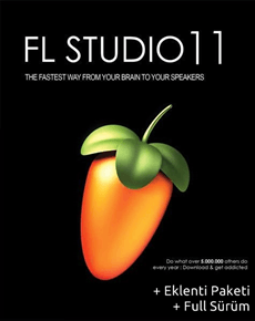 FL Studio Producer Edition v11.1.0 R2 + Eklenti Paketi
