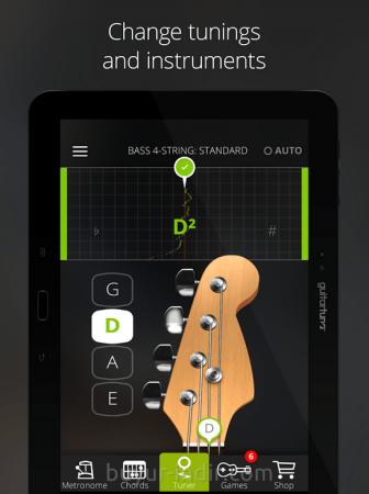 Guitar Tuner Free GuitarTuna v3.2.1 - APK