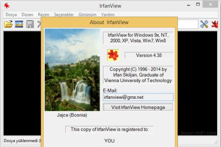 IrfanView & Plugins v4.38 Türkçe Katılımsız
