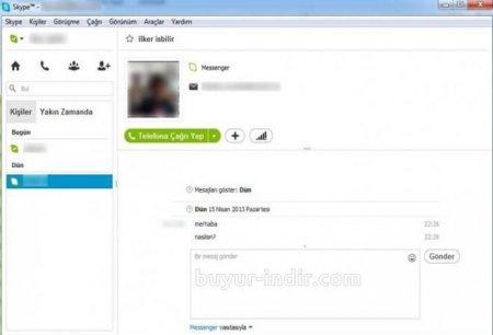 Skype v7.23.0.104 Türkçe