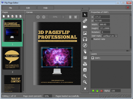 3D PageFlip Professional v1.7