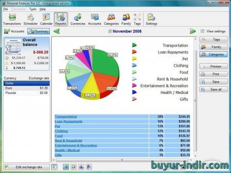 Personal Finances PRO v5.9 Türkçe