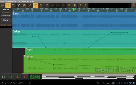 Audio Evolution Mobile DAW v3.6 - APK