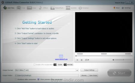GiliSoft Video Converter v9.5.0