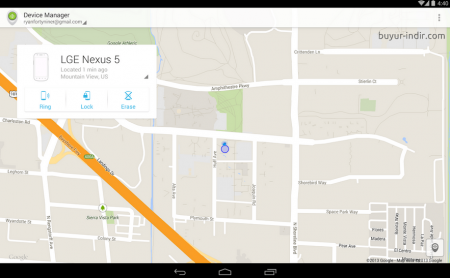 Android Cihaz Yöneticisi v1.4.4 - APK