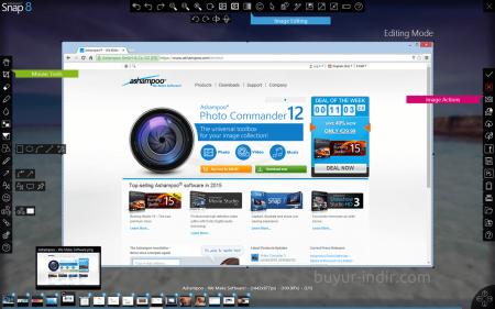 Ashampoo Snap Business v8.0.7 Türkçe Full indir