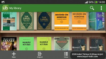 E-pub Uzantılı Tam 2328 Adet Türkçe E-Kitap Arşivi