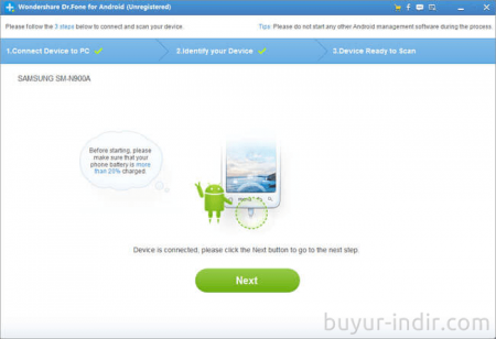 Wondershare Dr.Fone for Android v6.4.1