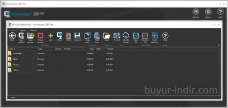Ashampoo ZIP Pro v1.0.7 Türkçe