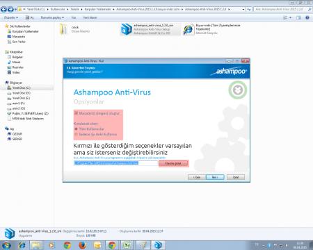 Ashampoo Anti-Virus 2015 - Resimli Kurulumu