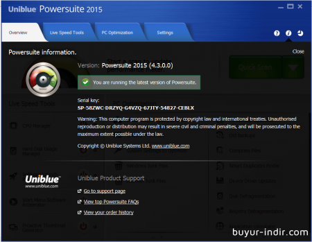 Uniblue PowerSuite 2016 v4.4.1 Full