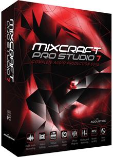 Acoustica Mixcraft Pro Studio v7.7.301 Türkçe