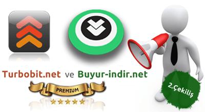 3. Turbobit Premium Üyelik Çekilişi