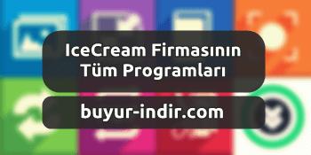 IceCream Firmasının Programları - 7 Adet Türkçe Program