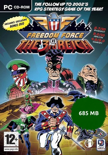 Freedom Force vs The 3rd Reich Rip