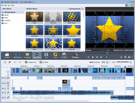 AVS Video Editor v7.3.1.277