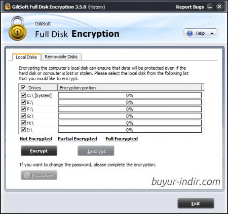 GiliSoft Full Disk Encryption v3.8.0
