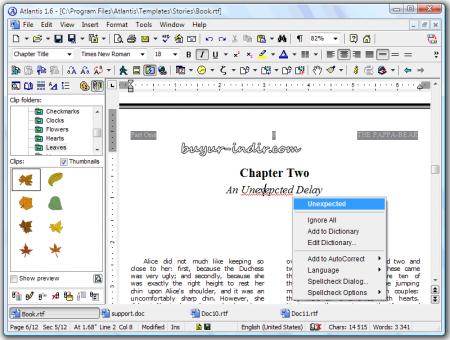 Atlantis Word Processor v1.6.6