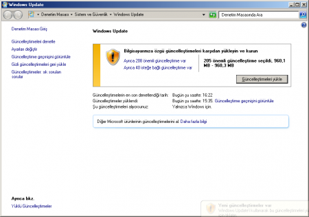 Windows Update 80072EE2 Hata Kodunun Çözümü